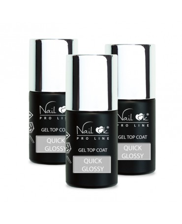 GEL TOP QUICK GLOSSY 30 ml,...