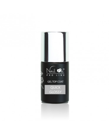 GEL TOP QUICK GLOSSY 10 ml,...